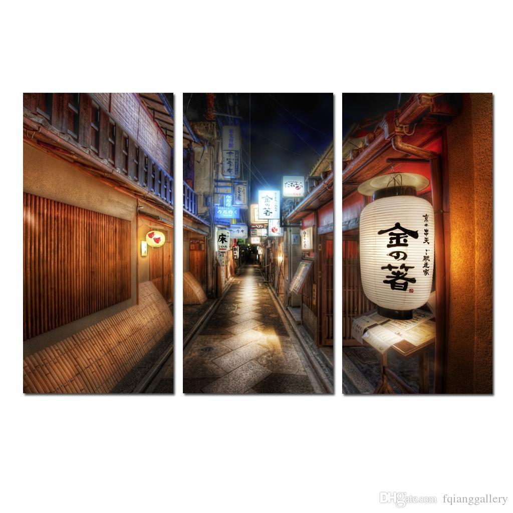 Acheter Grandes Lanternes Japonaises Contemporaines De La Rue Du