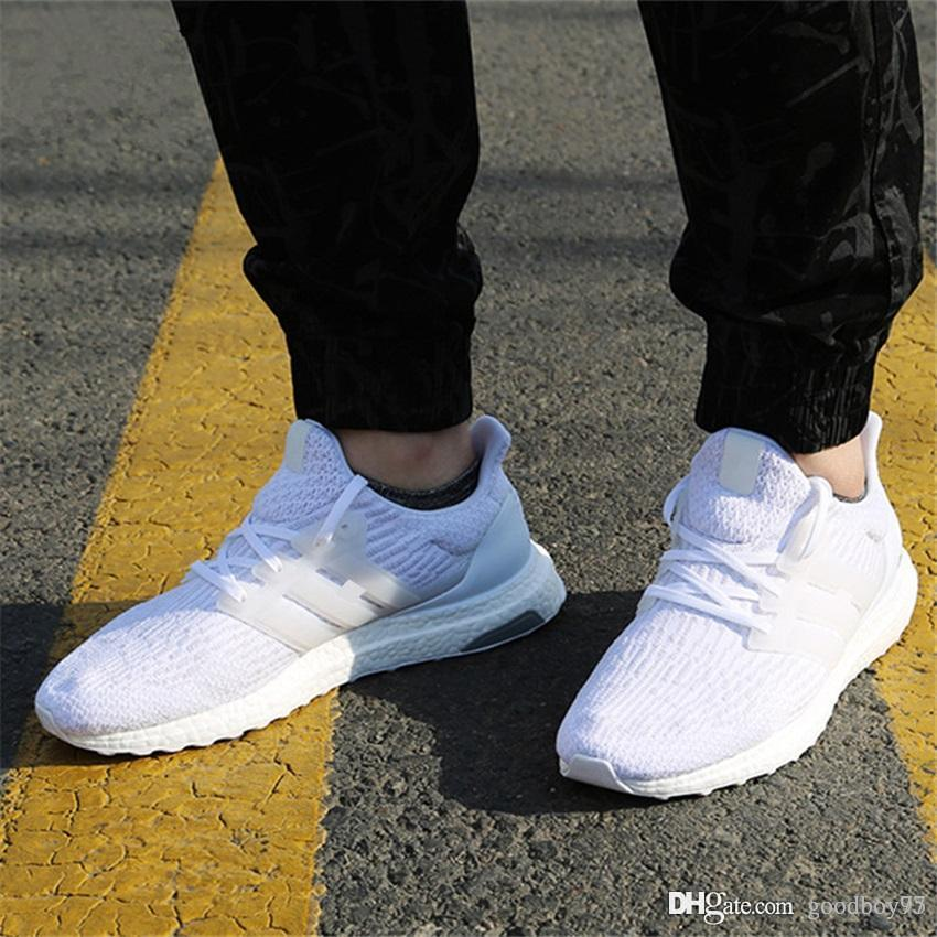 acf67eca871a8 2017 New Ultra Boost 2.0 3.0 4.0 UltraBoost Men Shoes Sneakers Women Sport  Tri Color CNY Snowflake Core Triple Black White Casual Shoes Casual Shoes  For Men ...