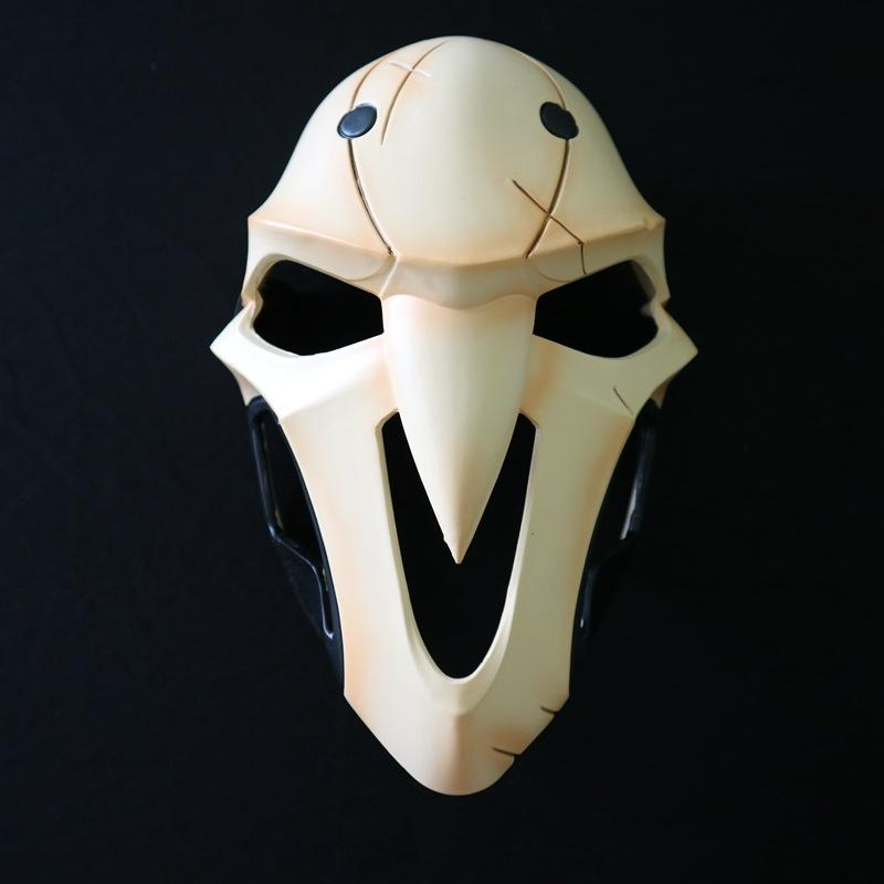 Fashion Game D.va Cosplay Costume Resin Reaper Gabriel Reyes Skull Mask Cosplay Helmet Halloween Party Props Masks Game Gifts