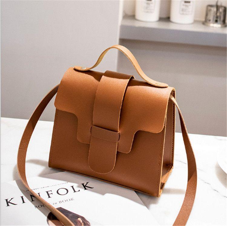 HOT Fashion Shoulder Bags for Women Small Mini Flap Bag PU Leather ... c96db4d2b8f18