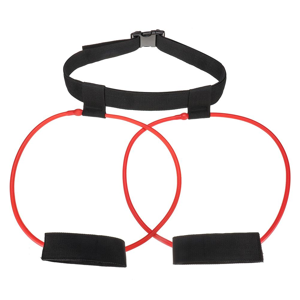 Women Rubber Loop Leg Exercise Glute Lifter Pilates Yoga Workout Hip Training Resistance Band Loop Booty Belt Muscles Trainer