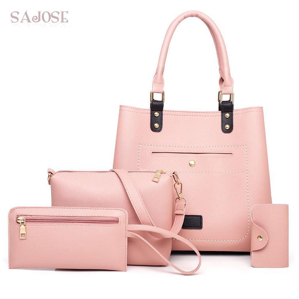 c99079a27f31 Totes Fashion Women Leather Bag Designer Brand Handbags High Quality ...