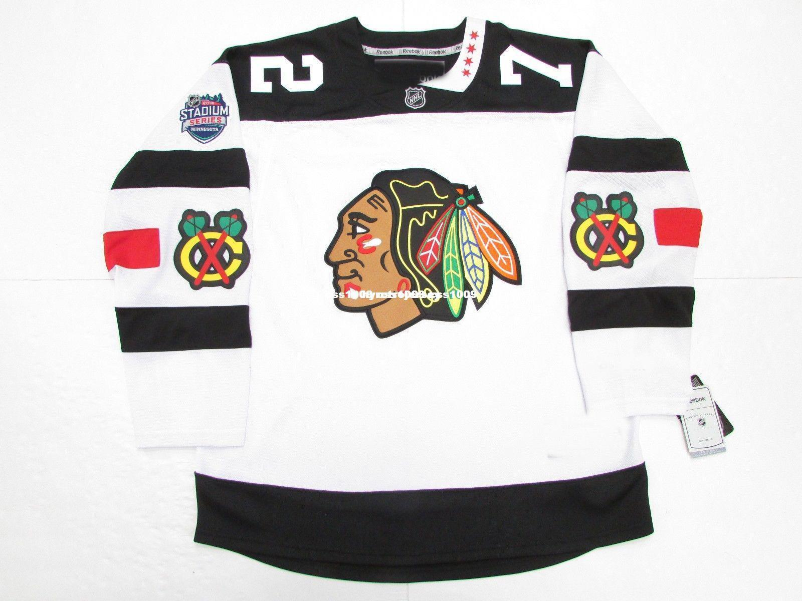finest selection 5befe 8f0e3 Cheap custom ARTEMI PANARIN CHICAGO BLACKHAWKS 2016 STADIUM SERIES PREMIER  JERSEY stitch add any number any name Mens Hockey Jersey GOALIE C