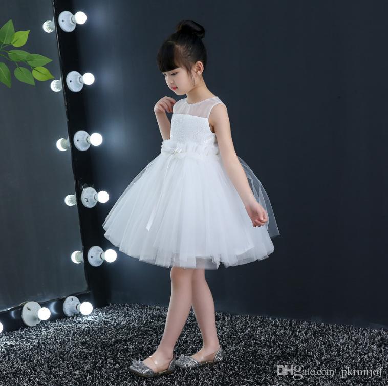 Simple Short Dresses for Girls