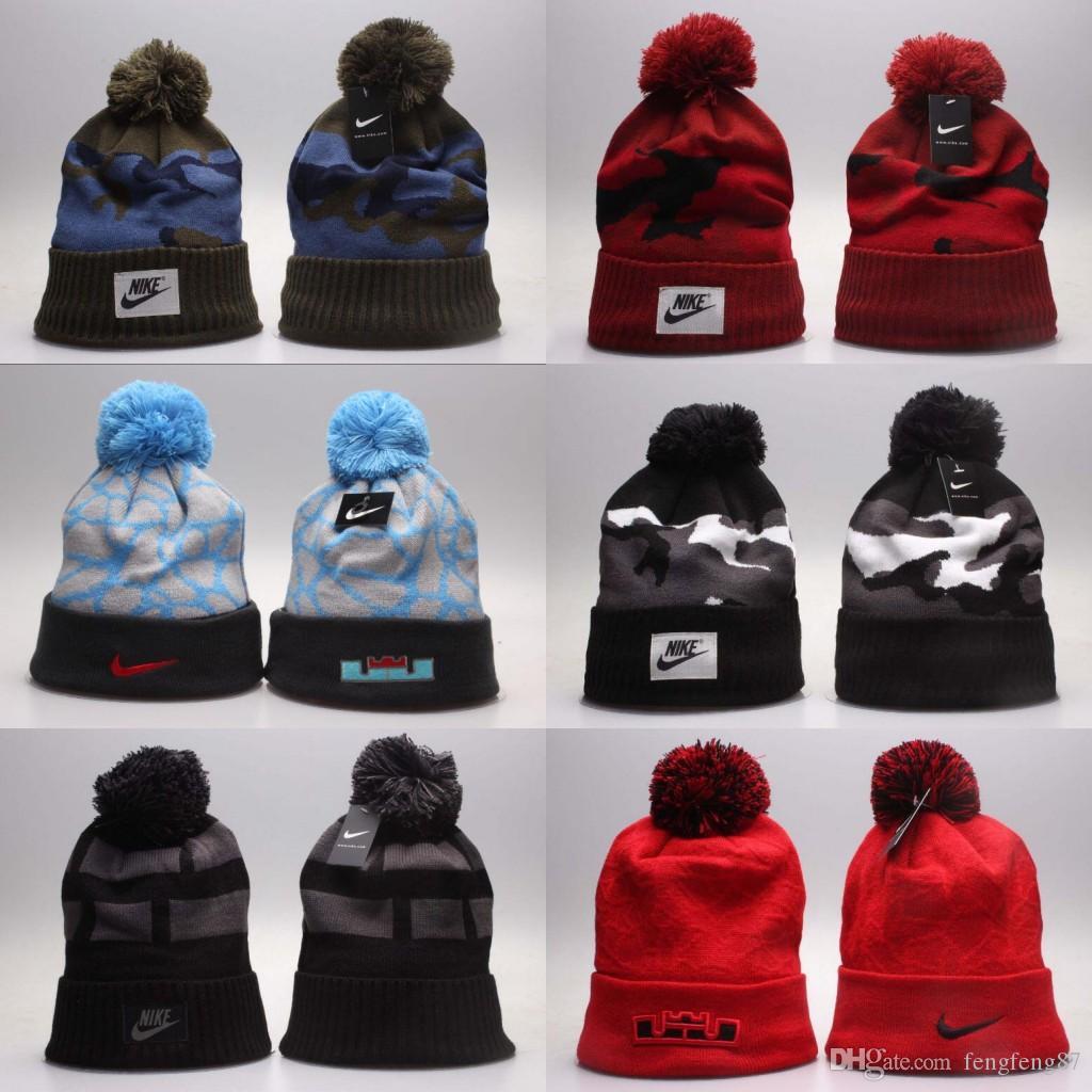 c8bf5cd6f2287 2019 Fashion Unisex Spring Winter Hats For Men Women Knitted Beanie Wool Hat  Man Knit Bonnet Basketball Beanies Bulls Gorro Thicken Warm Cap Cool Hats  ...