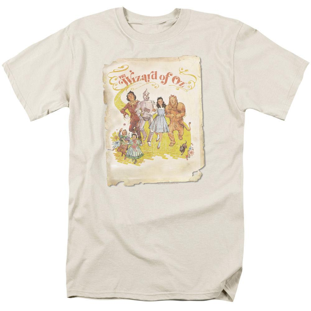 a6009ca9a9c WIZARD OF OZ Vintage Movie POSTER Art Licensed Licensed Adult T Shirt All  Sizes Men Women Unisex Fashion Tshirt Offensive Shirts Ringer T Shirts From  ...