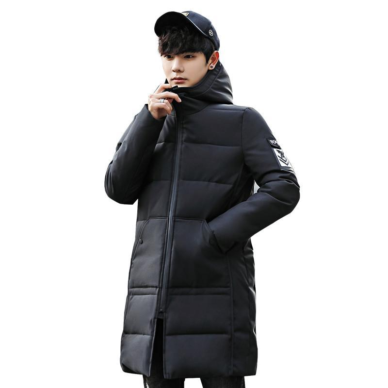 452dc3ff44a 2019 Plus Size M 5XL Winter Men Parka Jacket Long Coat Male Thick Cotton  Padded Jacket High Quality Parka Coat Male Fashion Casual Co From Linika