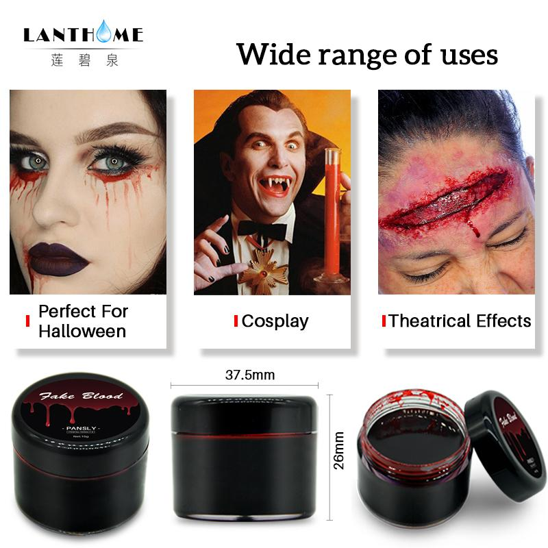 DIY Cos Halloween Makeup Ultra-realistic Fake Blood Face Paint Simulation Of Human Vampire On Props Festival Party Supplies