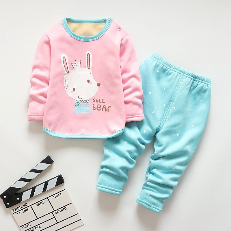 232e0f820a Good Quality Children Outfits Spring Autumn Kids Cotton Cartoon Top+ Pants  Baby Girls Clothing Set Toddler Boys Warm Pajamas Online with  33.96 Piece  on ...