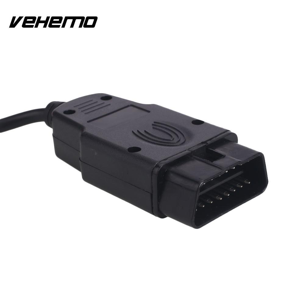 Vehemo Red OBD2 Eobd Diagnostic Tool Automatic Scanner Accurate Multilingual