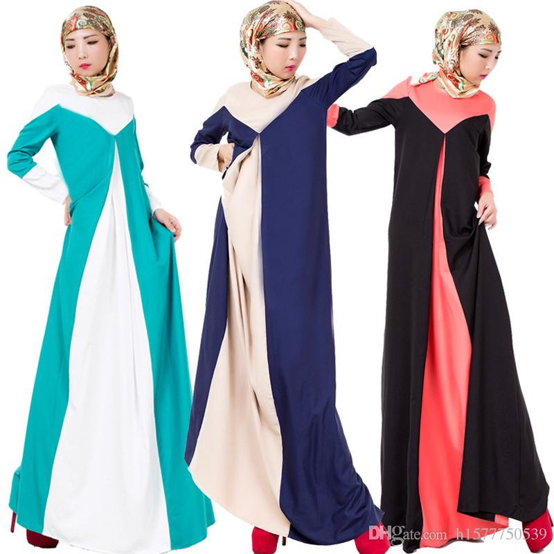 d231d640c94ee 10PCS Middle East Islamic Dubai Muslim Abaya Dress Turkish Clothing For  Woman Traditional Muslim Women Long dresses Robe Musulmane Vestidos