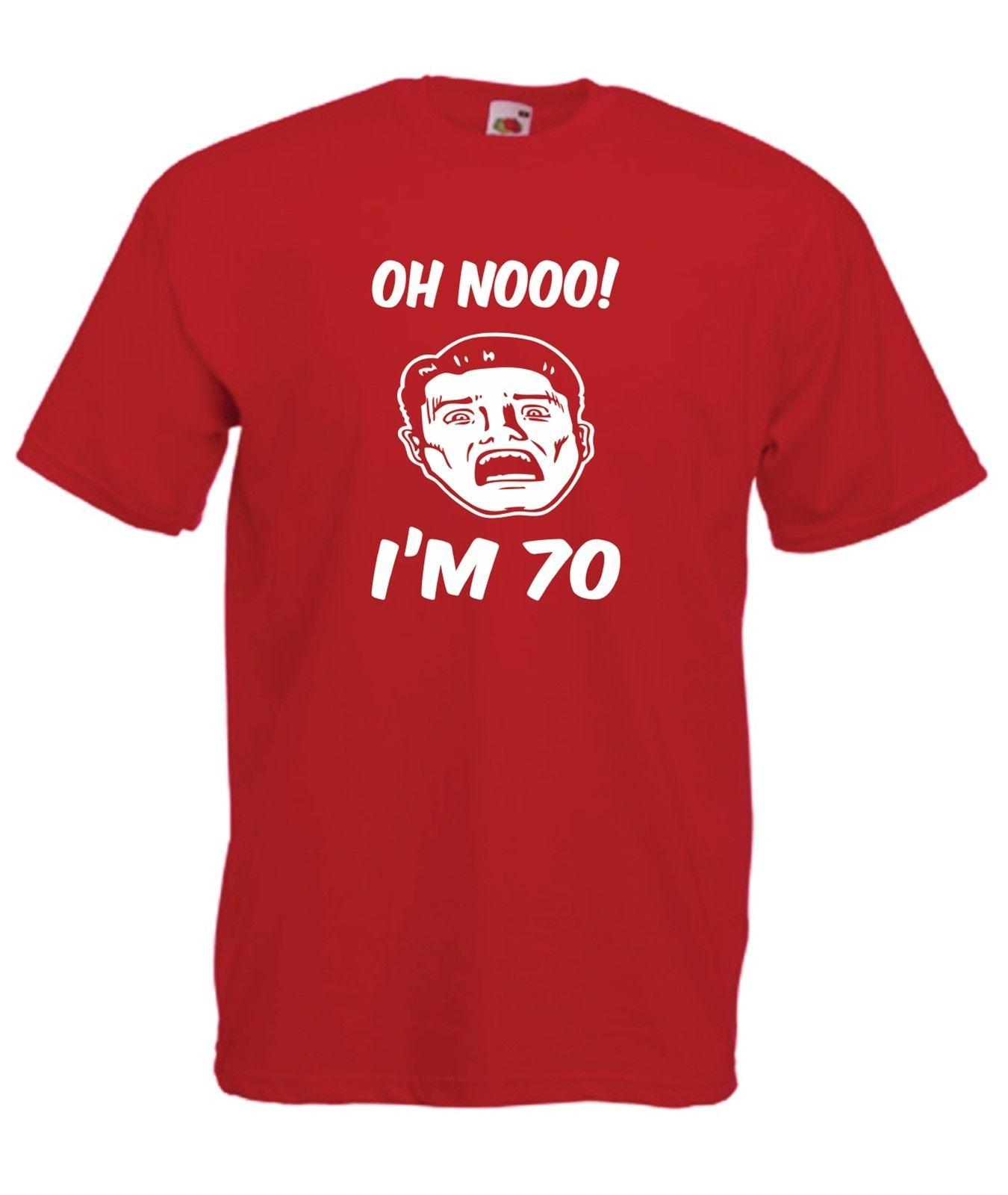 Oh No Im 70 Funny Mens Fathers Brothers Xmas