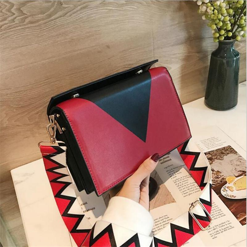 2018 Ladies bags Small women messenger bags For Girls Flap PU crossbody Bag for women Cross Body bag
