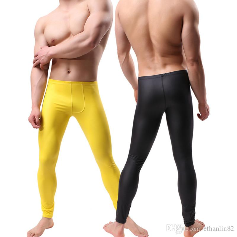 97451b10e84e Acheter Mode Compression Pantalon Running Collants Hommes Formation Fitness  Sport Leggings Gym Pantalon De Jogging Homme Sportswear Yoga Legging  Pantalon M ...