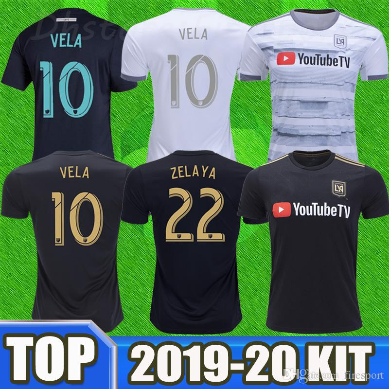 3c0790c8e 2019 NEW 2019 LOS ANGELES FC Soccer Jerseys 18 19 20 LAFC 2020 Home VELA  Jersey MLS Parley 2018 ZELAYA BLESSING ROSSI Footbal Shirts From Firesport
