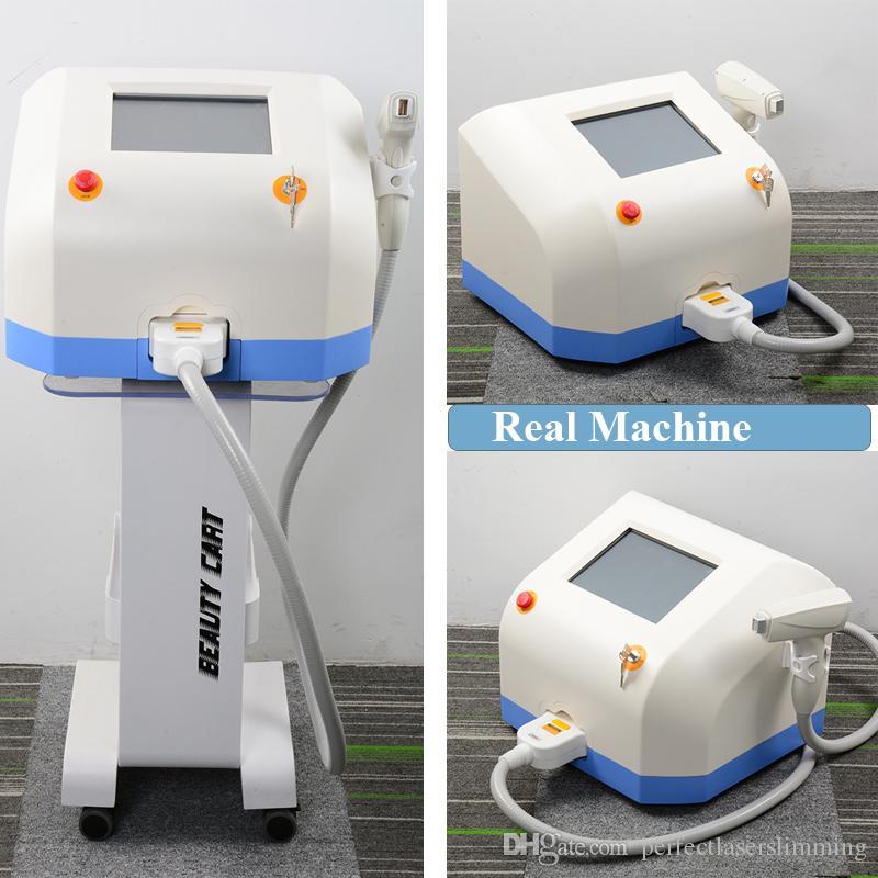 Última facial con láser de 808nm diodo láser de depilación piernas suaves eliminación del vello de la axila permanente sistema de láser de depilación