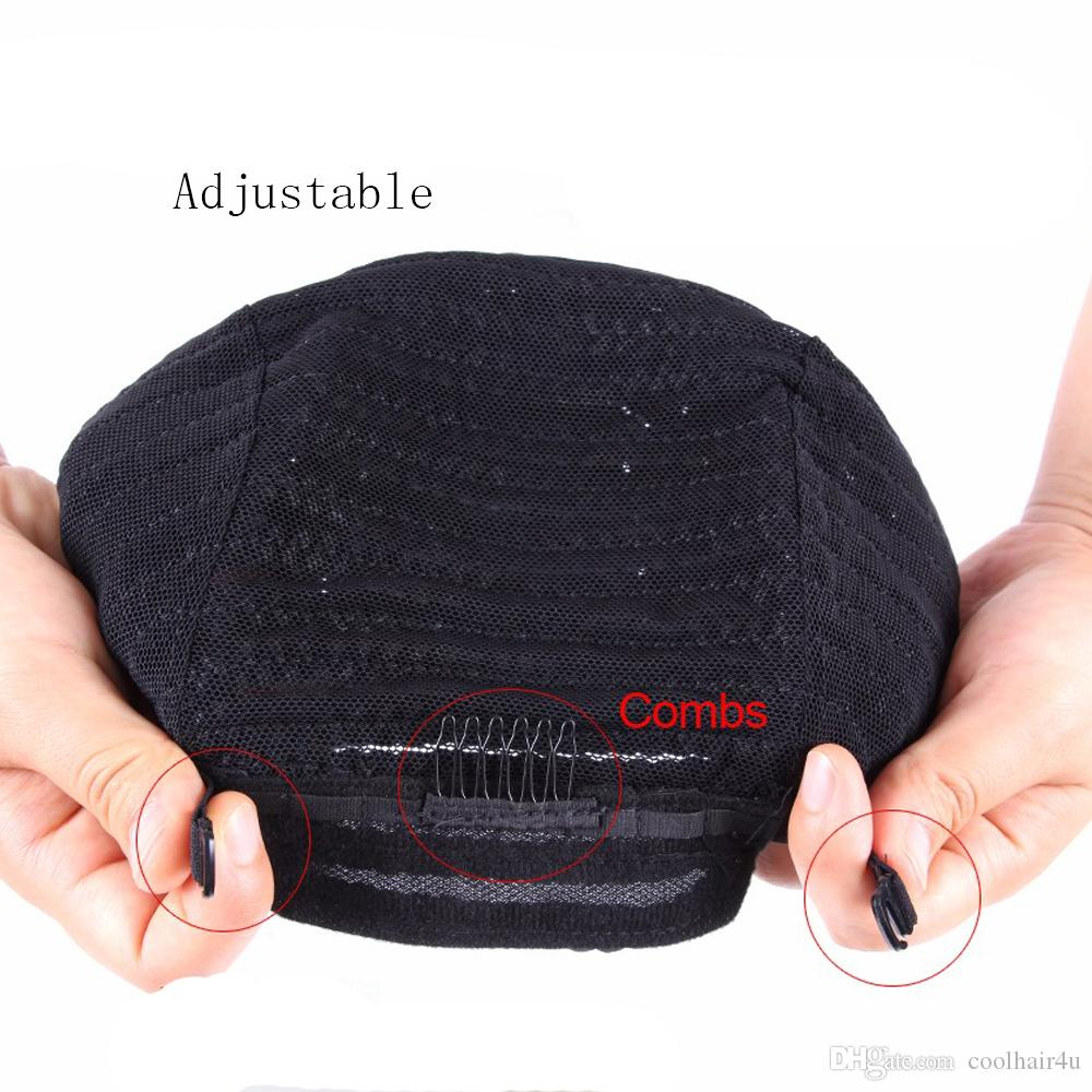 Top Sale Adjustable Black Cornrows Crochet Braid Wig Caps For Sewing Weave and Crochet Braiding Wigs Elastic Hairnet Glueless