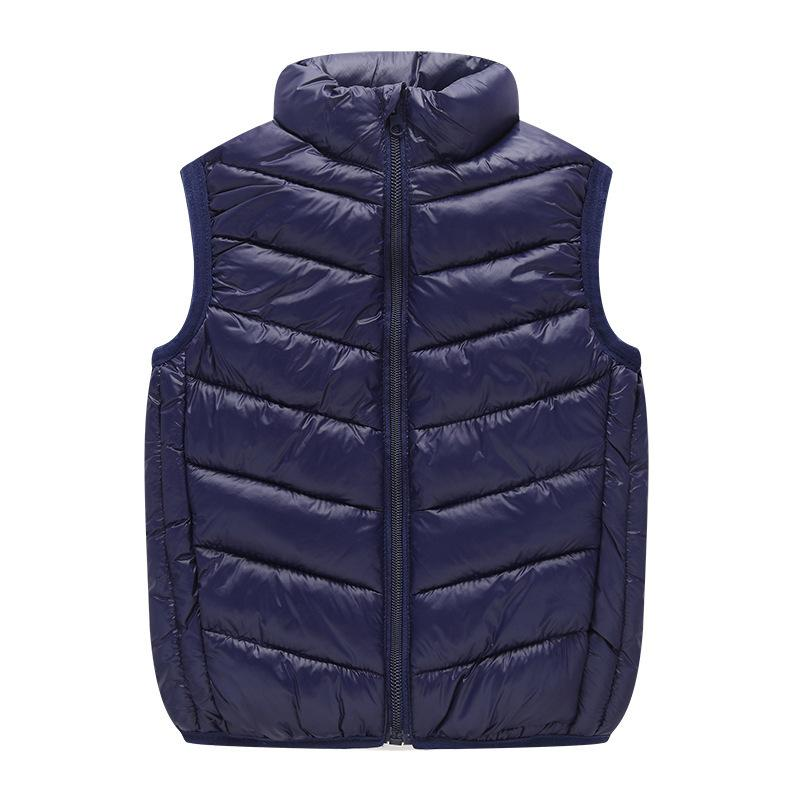 Cotton Vests for Girls Autumn Winter Teen Boys Waistcoats Kids Vest Jacket Solid Children Clothes Outerwear 4 5 6 7 8 9 10 Years