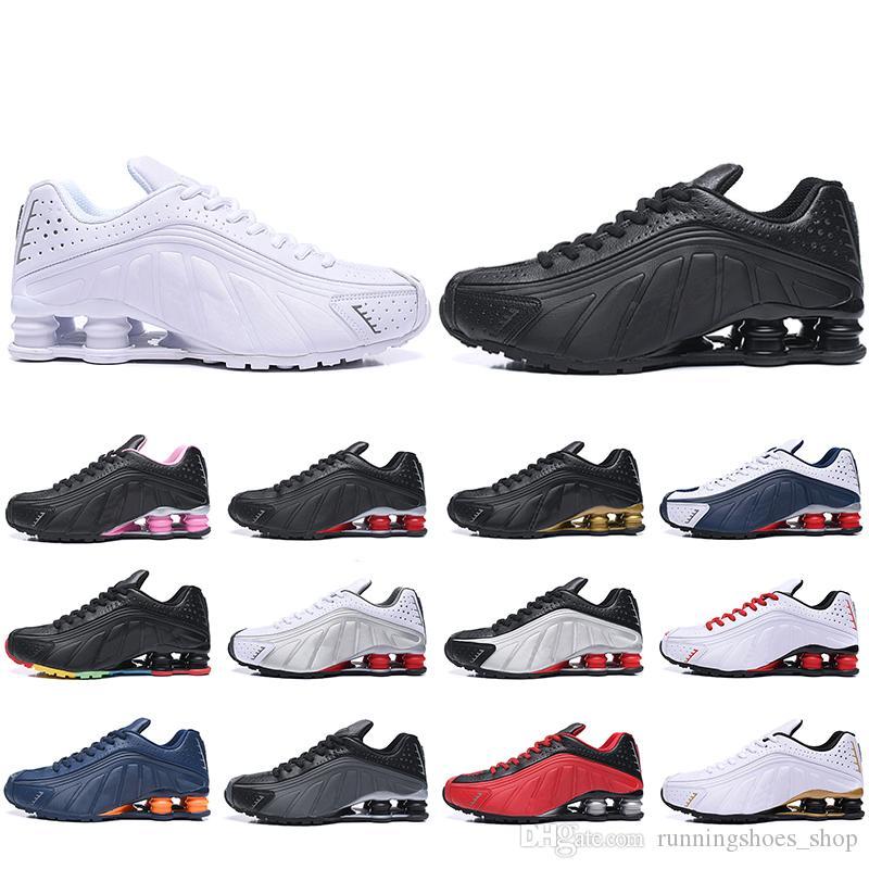73f7983d176af Con Caja Shox R4 Zapatillas Para Hombre Mujer Zapatillas Hombre De ...