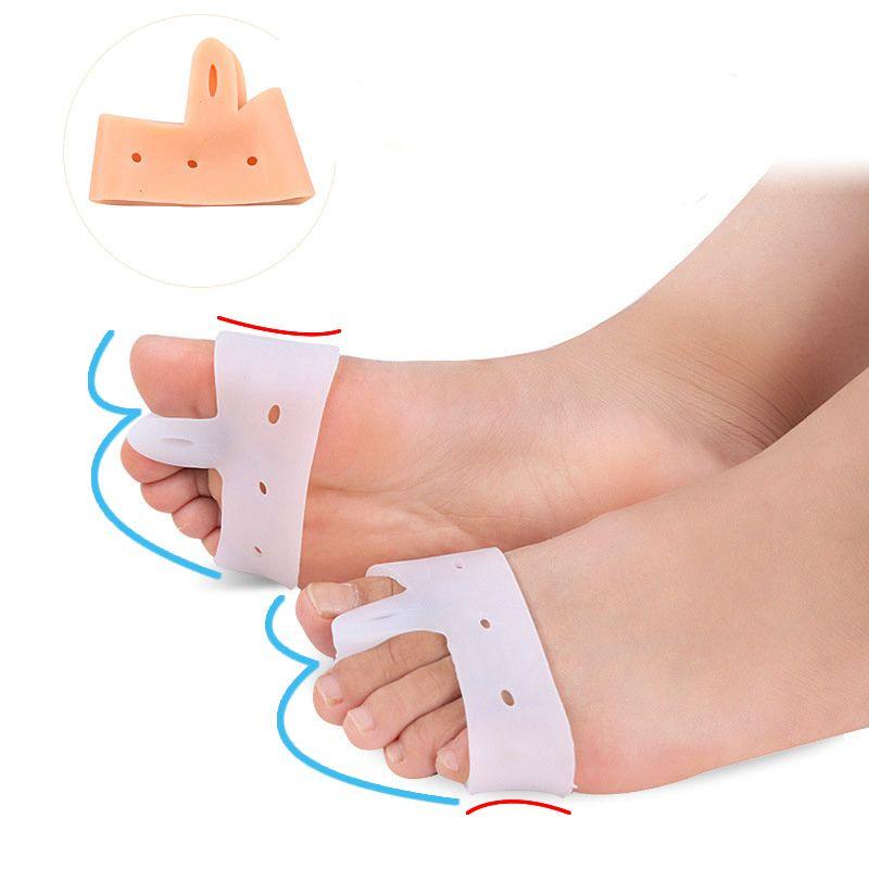 4c6389364b 200+ Silicone Gel Forefoot protection Toe Separator Stretcher Bunion Splint  Straighten Corrector Foot Hallux Valgus feet care bunion Device
