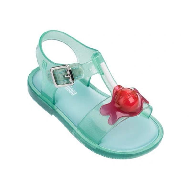 fb3ff8cec6 Mini Melissa Lollipop Girls Crystal Sandals Summer 2019 New Children Mesh  Holes Girls Breathable Jelly Shoes Girls Sandals Shoes Y190523