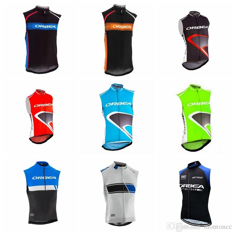 2019 ORBEA Cycling Sleeveless jersey Vest pro cycling jersey Traspirante quick dry bike ropa ciclismo Bicycle shirts abbigliamento MTB K032605