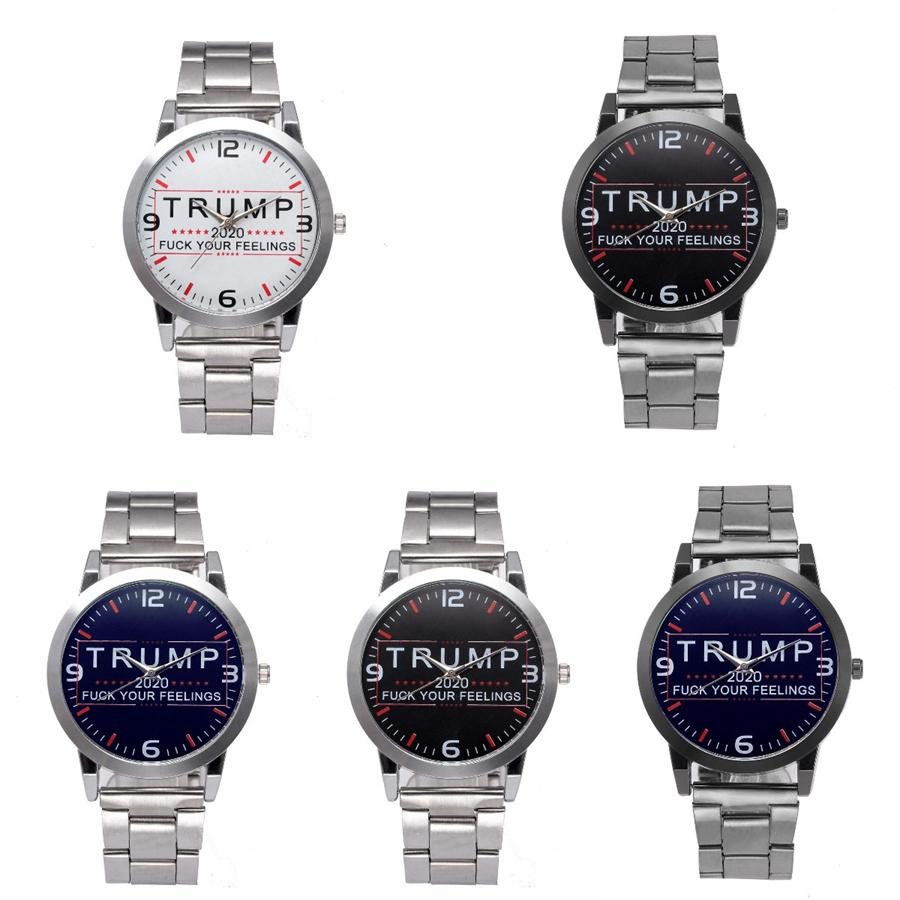Luxurious Retro Brand Logo Collection: Trump Wrist Watches 5 Styles Trump 2020 Strap Watch Retro