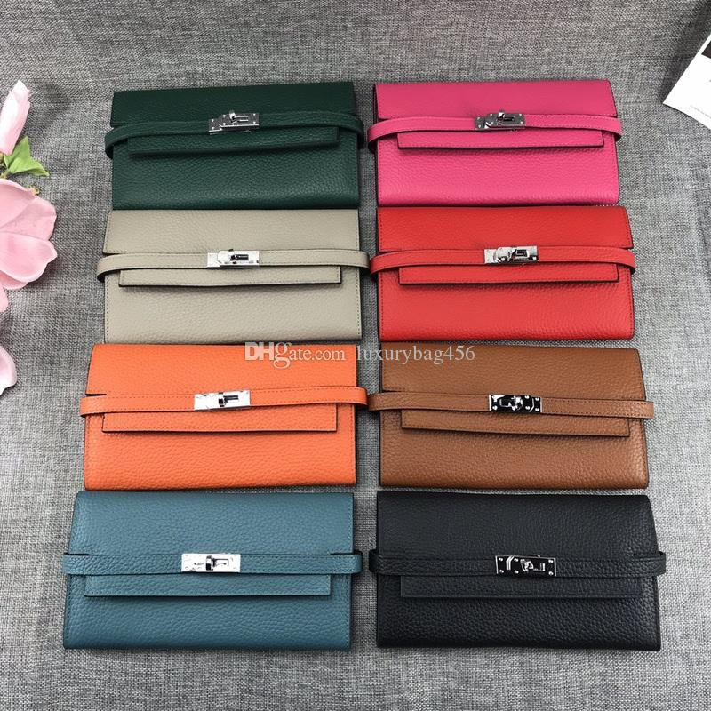 New Hot Wristband Clutch luxury Wallet Women Many Departments Female Wallet Zipper Designer Ladies Purse Handbag Coin Cell Phone Pocket