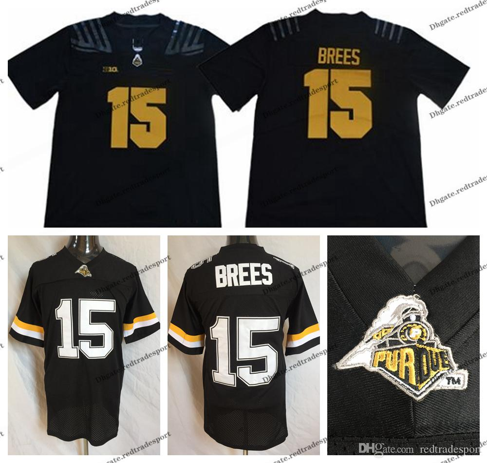 premium selection 770dd ab084 drew brees purdue throwback jersey