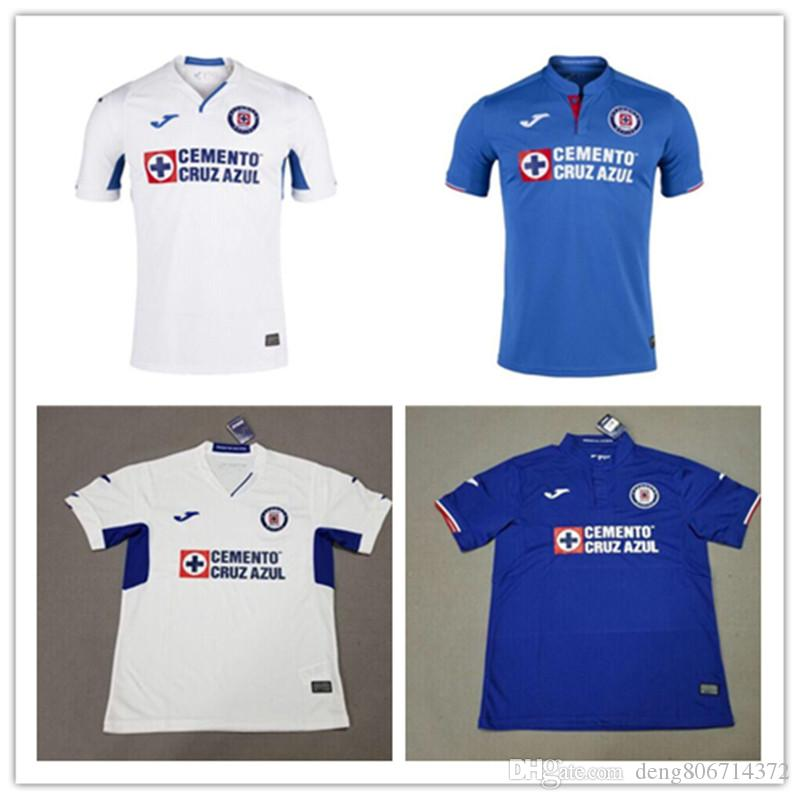 f73b9430fac 2019 Thailand Quality 2019 2020 Mexico Club Cruz Azul Liga MX Soccer Jerseys  19 20 Home Blue Away White Football Shirts Camisetas De Futbol From ...