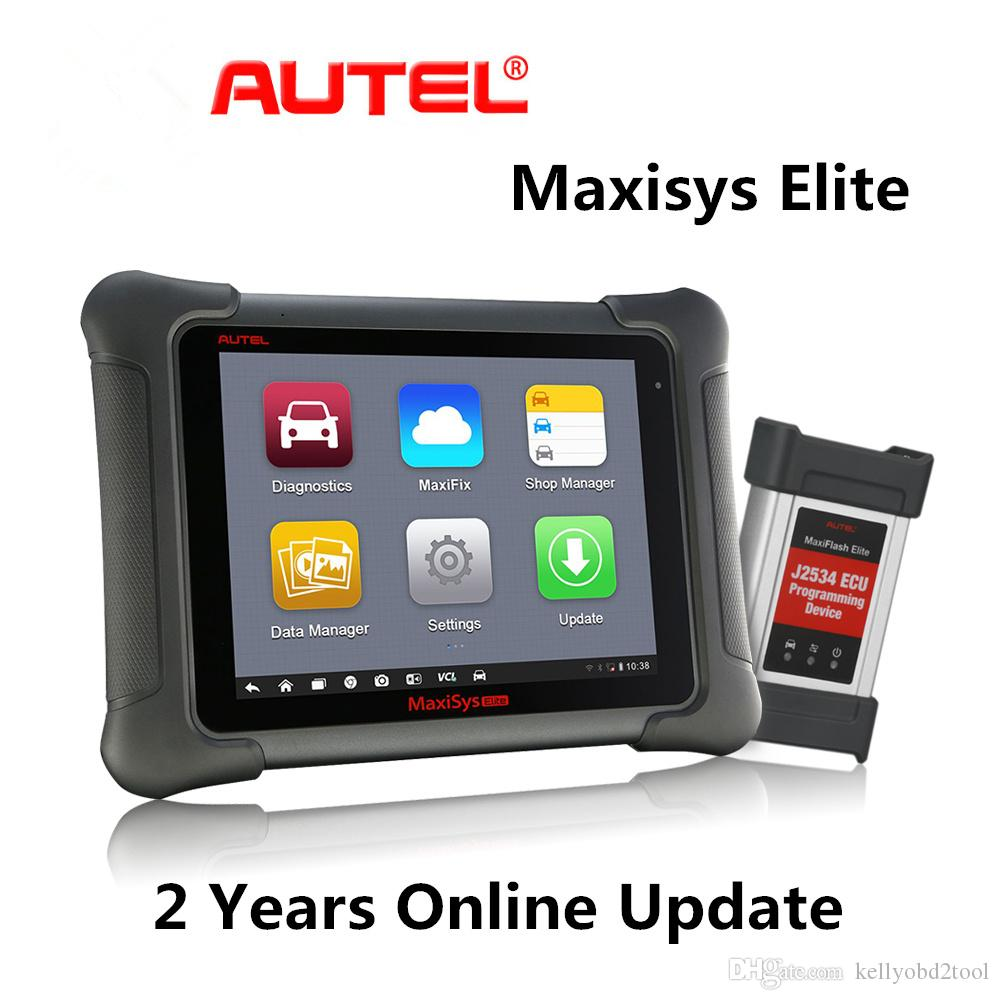 Autel Maxisys Elite Diagnostic Tool Upgraded Version of maxisys pro MS908P Pro with Wifi Bluetooth Full OBD2 Automotive Scanner with J2534