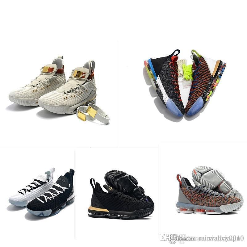 641e72555132 2019 Cheap New What The Lebron 16 Mens Basketball Shoes For Sale ...