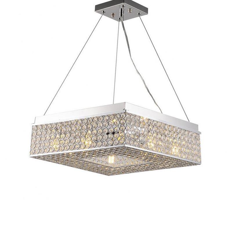 jmmxiuz Hot new rectangular living room lighting restaurant lamp bedroom  lamp modern minimalist led ceiling chandelier