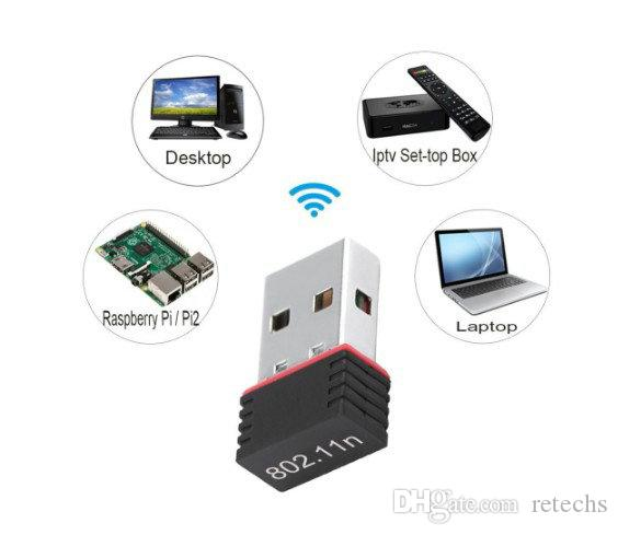 Nano 150M Wifi Adapter Mini USB IEEE 802.11n support 64 /128 bit WEP WPA Encryption for Windows Vista MAC Linux