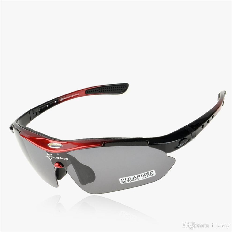 9307f7e2e5e1 ROCKBROS Outdoor Cycling Polarized Glasses Bike Sports Goggles ...
