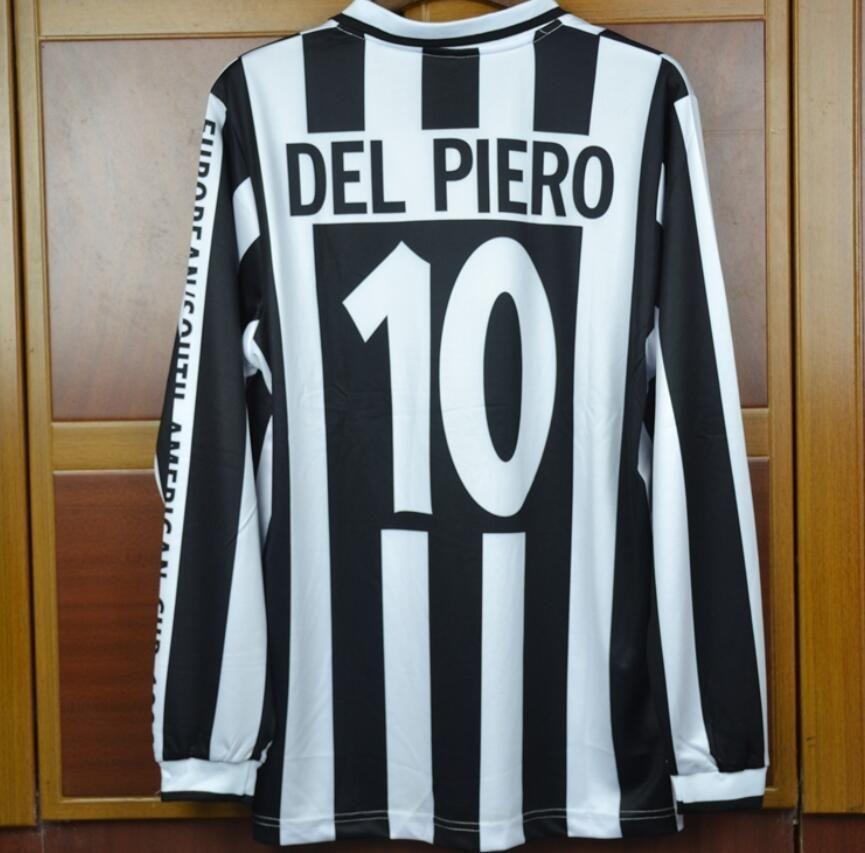 1996 Intercontinental Cup Alessandro Del Piero Soccer Jersey Juven VS River  Plate Football Shirt maglie calcio Del Piero man of the match