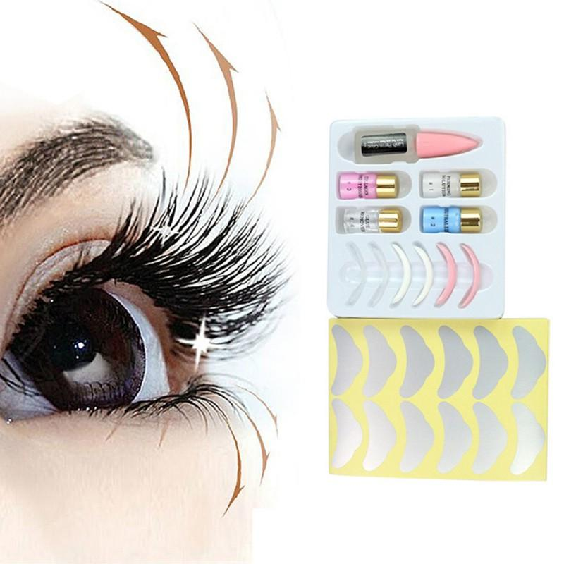 50e83ec001c Beauty High Quality Lash Lift Eyelash Perming Kit Lift Perm Set With Rods Glue  Professional Cilia Extension Lashes Feather Eyelashes How To Clean False ...