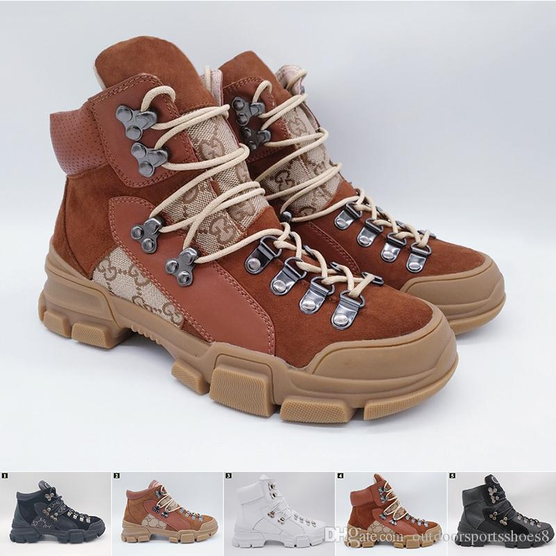 bae10283f91d1 Marca Flashtrek High Top Sneaker Unisex Botines Para Hombre Senderismo Bota  Militar Para Mujer Zapatos De Diseñador Gruesos Zapatillas Antideslizantes  ...