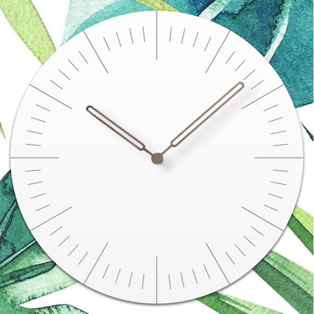 4e867a0e81be Compre Reloj De Pared Simple Estilo Europeo Sala De Estar Relojes De Pared  Dormitorio Creativo Relojes De Cuarzo Silenciosos A  56.28 Del Bdhome