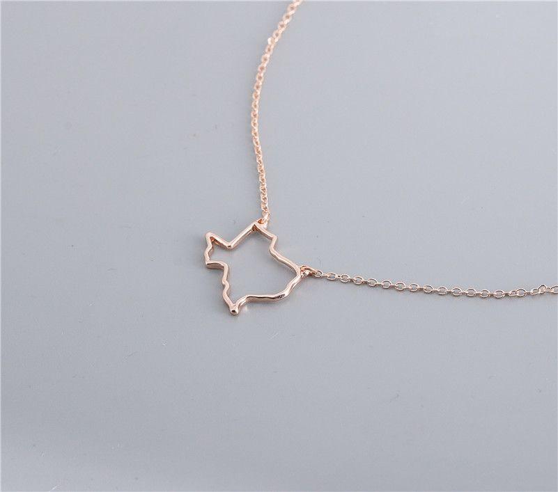 10 Pcs Contour Usa Texas état Carte Bracelet Simple Géométrique Creux Géographie Ouvert Ligne Terre Globe Monde Américain Tx Ville Bracelets