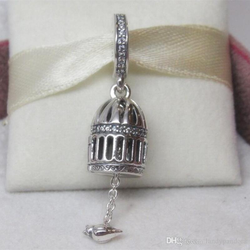 ebaf57f74 DIY Loose Bead 100% 925 Sterling Silver FREE AS A BIRD Dangle Charm ...