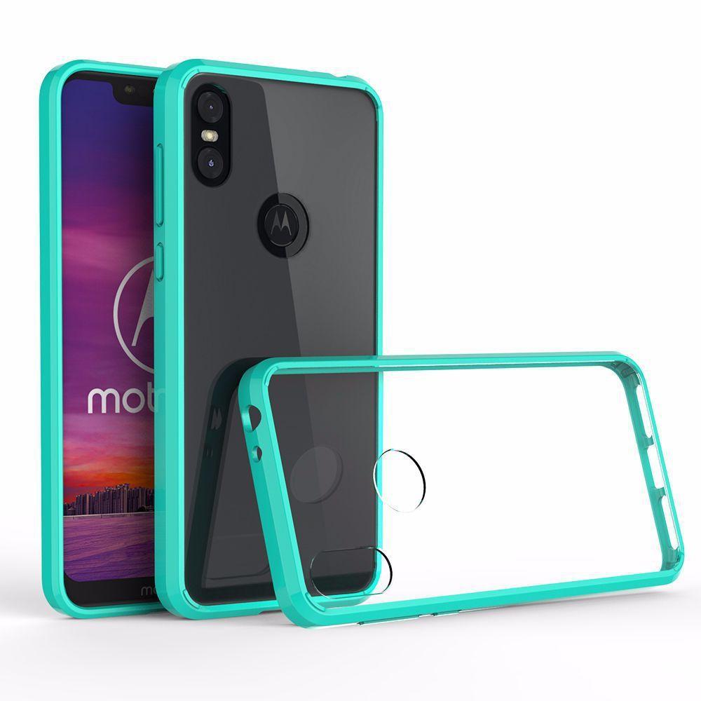 wholesale dealer 0f9db 88373 Acrylic TPU Hard Transparent Cover Case for Motorola Moto One Power P30  Note E5 Play Go G7 Z4 Anti-scratch Hybrid SKin