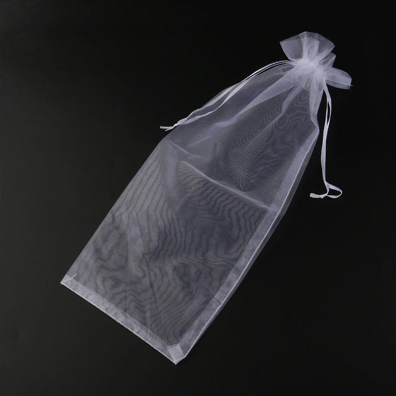 Sheer Organza Wine Bottle Cover Wrap Gift Bags Wedding Favors And Gifts Bag Cosmetics Jewelry Receive Bag Party Supplier