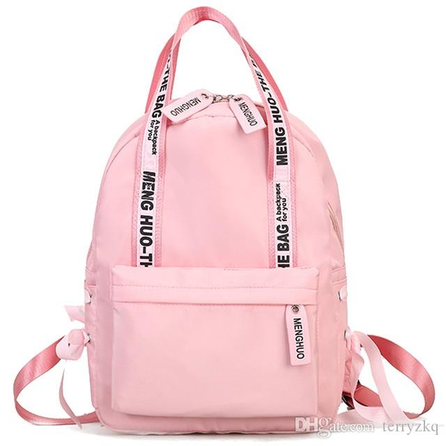 Large Capacity Backpacks Women Preppy School Bags For Teenagers ... e2de4f9520