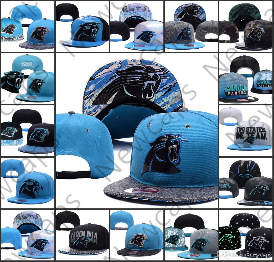 the best attitude 42695 6b6ff 2019 Carolina Adjustable Hats Panthers Embroidery Team Logo Snapback All  Team Wholeasle Knit Beanies Caps One Size