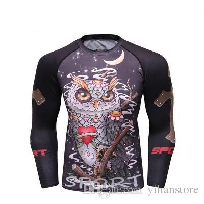 28a0a8db62e9 2019 2019 NEW Men Raglan Sleeve Black Panther 3D Printed Marvel T Shirts  Compression Shirts Crossfit Tops Male BodyBuilding Clothing From  Yihanstore