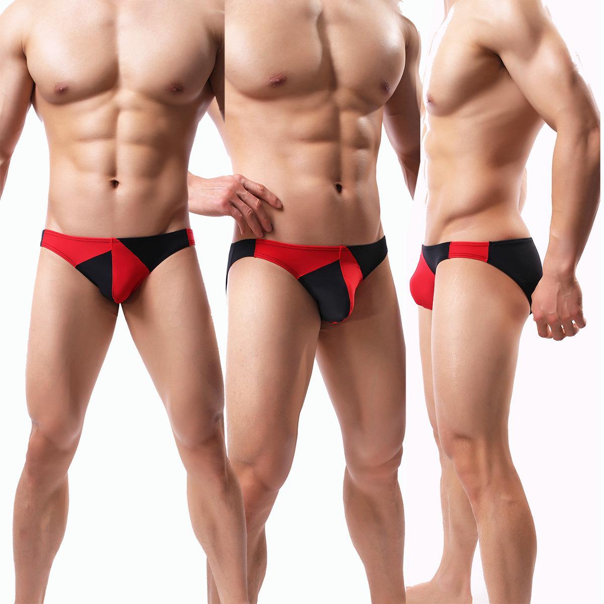 Sexy Men s Briefs Soft Breathable Silk Underwear Men s Hot Hips Up ... 992af28c59