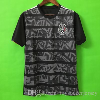 b2e46ca8b2b 2019 MEXICO SOCCER JERSEY 2019 GOLD CUP Kits 2020 Black Away Soccer Shirt  CHICHARITO LOZANO DOS SANTOS VELA Camisetas De Futbol Football Shirt From  ...