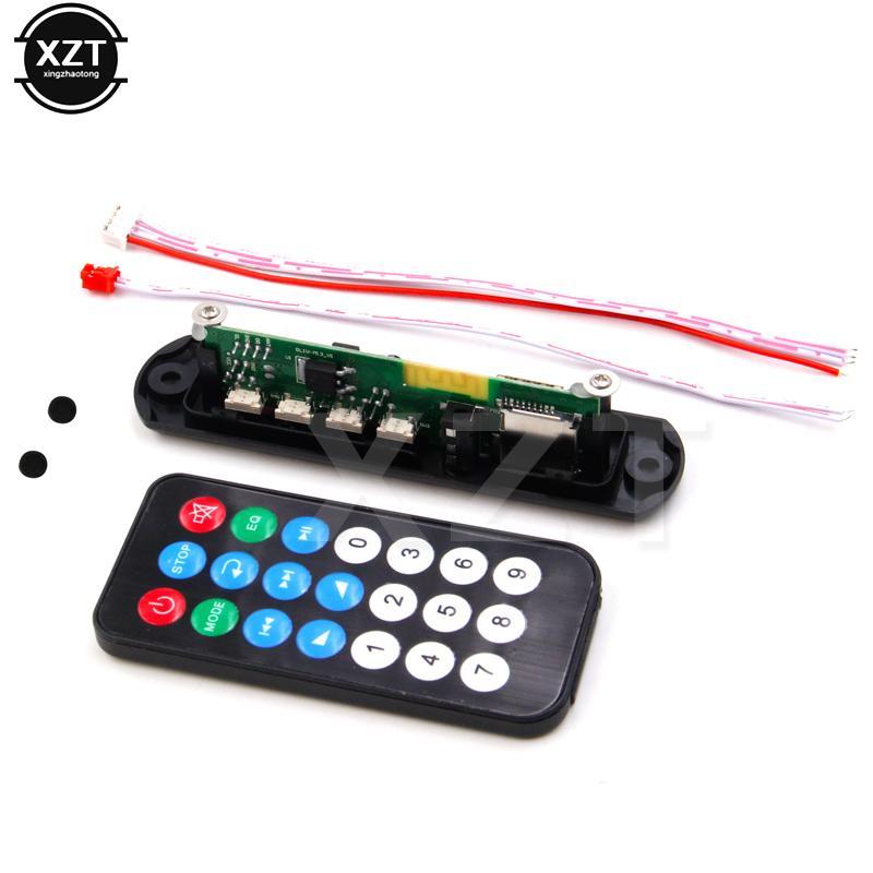 Unterhaltungselektronik Mp3 Decoder Board Dc 5 V 12 V Usb Power Versorgung Tf Fm Radio Audio Modul Aux Fernbedienung Für Auto Fernbedienung Musik Lautsprecher Mp3-player