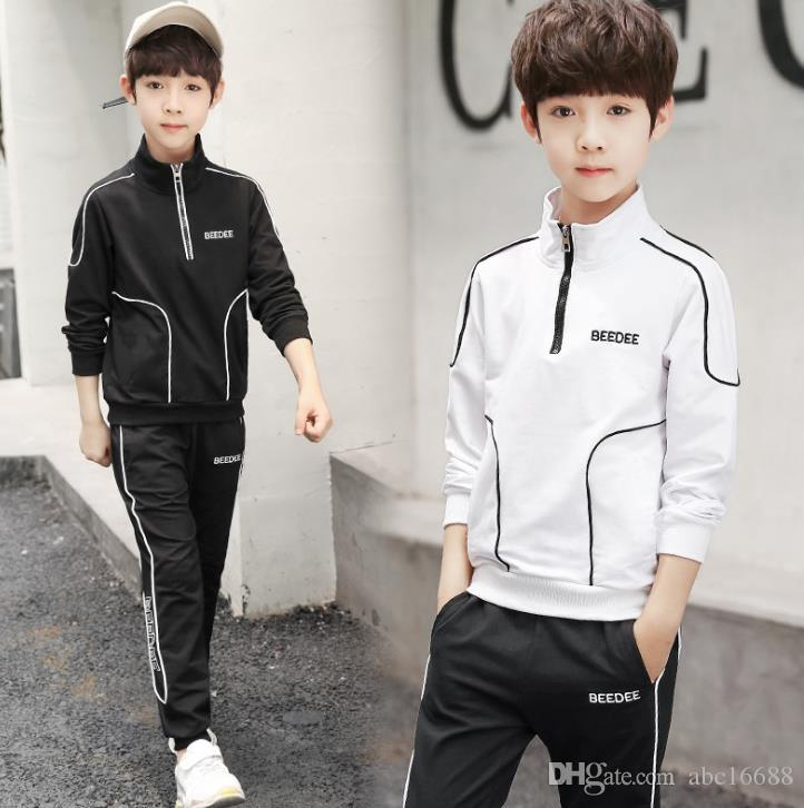 4b20a4c4f1fbf HOT Children s suit Girls Clothing Set Children Coat T shirt Trouser 2ps  Set New Autumn Teenager Sport Suits School Uniform